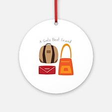 Girls Best Friend Ornament (Round)