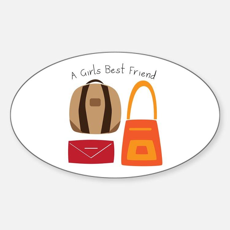 Girls Best Friend Decal