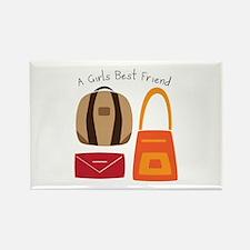 Girls Best Friend Magnets