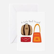Girls Best Friend Greeting Cards