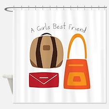 Girls Best Friend Shower Curtain