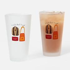 Girls Best Friend Drinking Glass