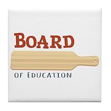 Board Of Education Tile Coaster