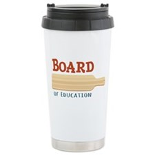 Board Of Education Travel Mug