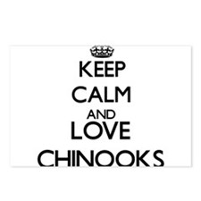 Keep calm and love Chinoo Postcards (Package of 8)