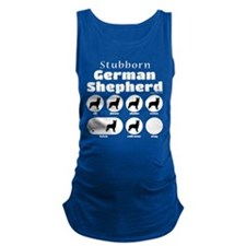 Stubborn Shepherd v2 Maternity Tank Top