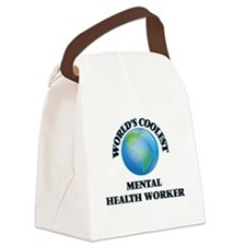 Mental Health Worker Canvas Lunch Bag