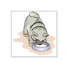Norwegian Elkhound Puppy Sticker