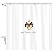 Unique Masonic Shower Curtain