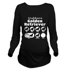 Stubborn Golden v2 Long Sleeve Maternity T-Shirt