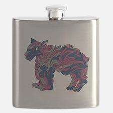 Swedish Lapphund Flask
