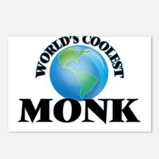 Monk Postcards (Package of 8)