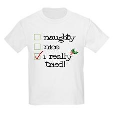 Cute Naughty and nice T-Shirt