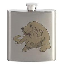 Spanish Mastiff Flask