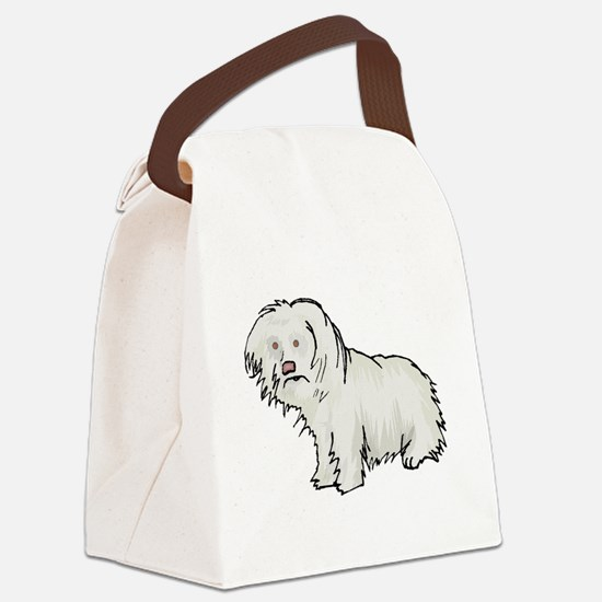 Spanish Water Dog Canvas Lunch Bag