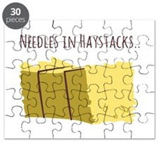 Needles In Haystacks Puzzle