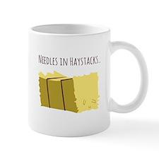 Needles In Haystacks Mugs