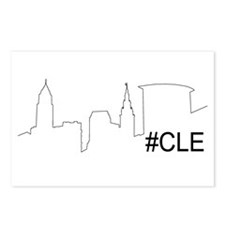 Cute Cleveland ohio Postcards (Package of 8)