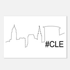 Unique Cleveland ohio Postcards (Package of 8)