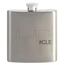 Cute Cleveland Flask