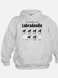 Stubborn Labradoodle v2 Hoodie