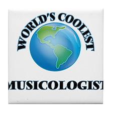 Musicologist Tile Coaster