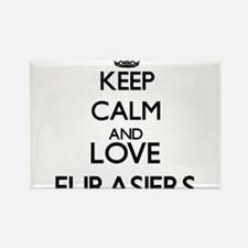 Keep calm and love Eurasiers Magnets