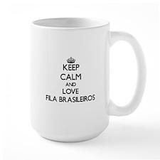 Keep calm and love Fila Brasileiros Mugs