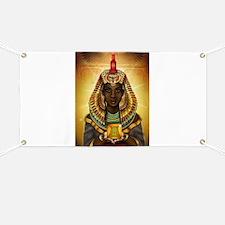 Egyptian Goddess Isis Banner