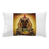 Egyptian goddess isis Pillow Cases