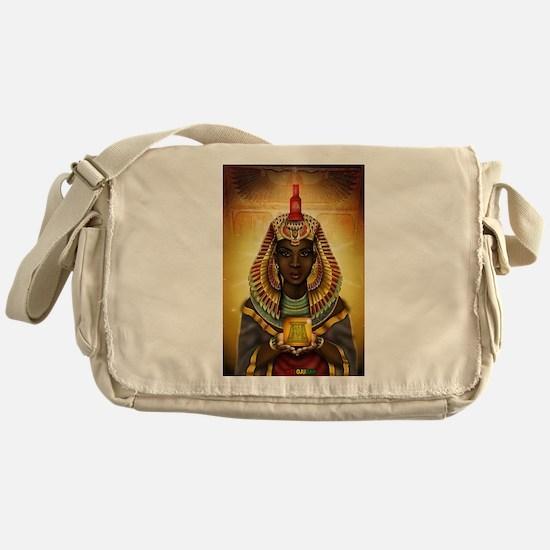 Egyptian Goddess Isis Messenger Bag