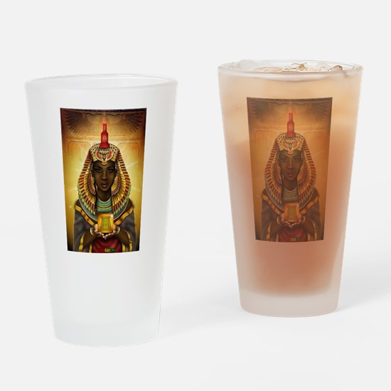 Egyptian Goddess Isis Drinking Glass
