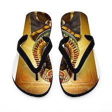 Egyptian Goddess Isis Flip Flops