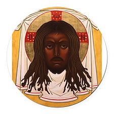 The Lion of Judah Round Car Magnet