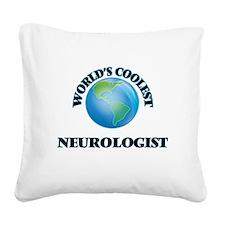 Neurologist Square Canvas Pillow