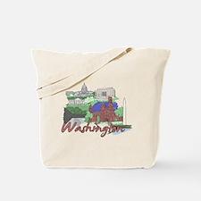 Unique Washington dc Tote Bag