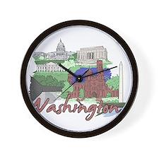 Unique District columbia Wall Clock