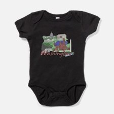 Funny Capitol Baby Bodysuit