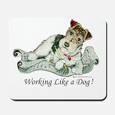 Working Fox Terrier Mousepad