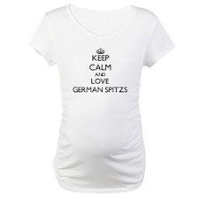 Keep calm and love German Spitzs Shirt