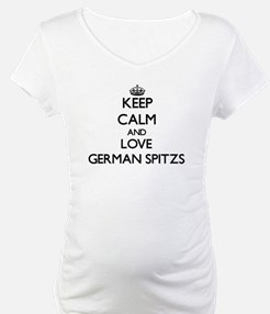 Keep calm and love German Spitzs Shirt