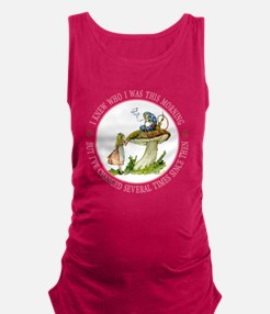 I Knew Who I Was This Morning Maternity Tank Top