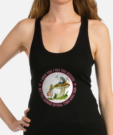 I Knew Who I Was This Morning Racerback Tank Top