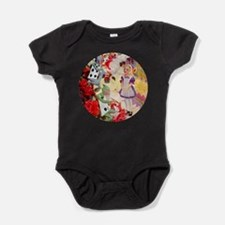 Painting the Queens Roses Baby Bodysuit