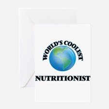 Nutritionist Greeting Cards