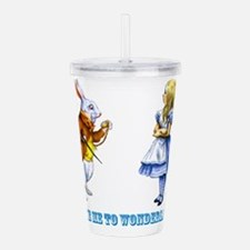 Take me to Wonderland Acrylic Double-wall Tumbler