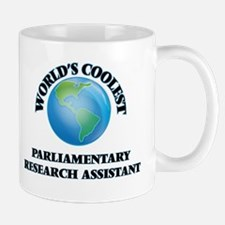 Parliamentary Research Assistant Mugs
