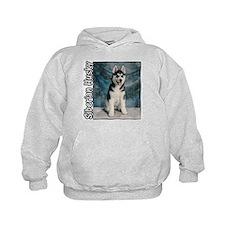 Siberian Husky Puppy Hoodie