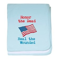 Honor the dead baby blanket