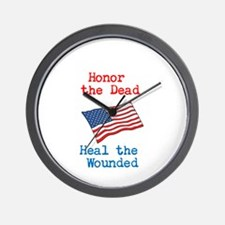 Honor the dead Wall Clock